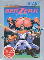 Berzerk - Front | Berzerk Atari 5200