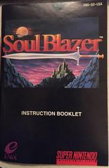 Manual | Soul Blazer Super Nintendo