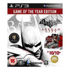 Batman: Arkham City [Game of the Year] Playstation 3 Prices