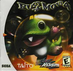 Manual - Front | Bust-A-Move 4 Sega Dreamcast