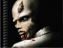 Back Of Single Disc Case - Inside | Resident Evil Director's Cut Playstation