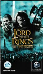 Manual - Front | Lord of the Rings Two Towers Gamecube