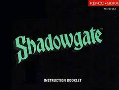 Shadowgate - Instructions | Shadowgate NES