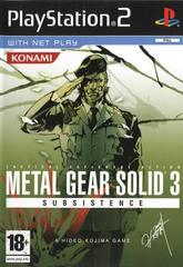 Metal Gear Solid 3 Subsistance PAL Playstation 2 Prices