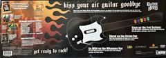 Back Of Box | Guitar Hero [Guitar Bundle] Playstation 2