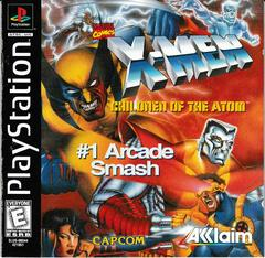 Manual - Front | X-Men Children of the Atom Playstation