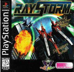 Manual - Front   Raystorm Playstation