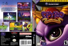 Case - Cover Art (Player'S Choice) | Spyro Enter the Dragonfly Gamecube