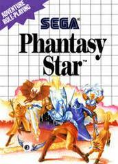 Phantasy Star - Front | Phantasy Star Sega Master System