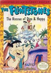 Flintstones The Rescue Of Dino And Hoppy - Front | Flintstones The Rescue of Dino and Hoppy NES
