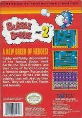 Bubble Bobble Part 2 - Back | Bubble Bobble Part 2 NES