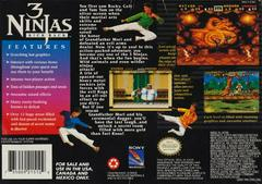 3 Ninjas Kick Back - Back | 3 Ninjas Kick Back Super Nintendo