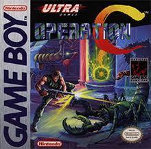 Operation C - Front | Operation C GameBoy