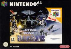 Star Wars Shadows of the Empire PAL Nintendo 64 Prices
