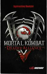 Manual - Front | Mortal Kombat Deadly Alliance Playstation 2