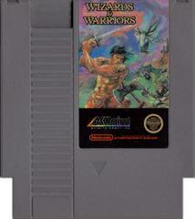 Cartridge | Wizards and Warriors NES