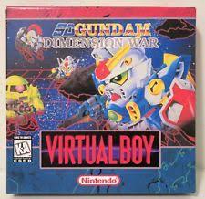 SD Gundam Dimension Wars [Homebrew] Virtual Boy Prices