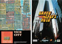 "2 Sided Map/Poster 11"" X 8"" - Front 