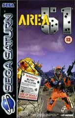 Area 51 PAL Sega Saturn Prices