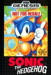 Sonic the Hedgehog [Not for Resale] Sega Genesis Prices