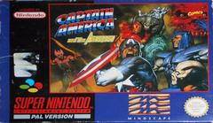 Captain America and the Avengers PAL Super Nintendo Prices