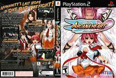 Artwork - Back, Front | Arcana Heart Playstation 2