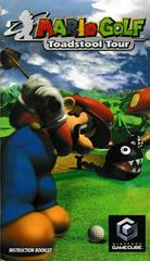 Manual - Front | Mario Golf Toadstool Tour Gamecube