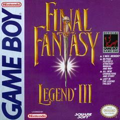 Final Fantasy Legend 3 GameBoy Prices
