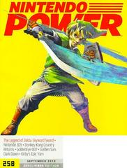 [Volume 258] Legend of Zelda: Skyward Sword Nintendo Power Prices