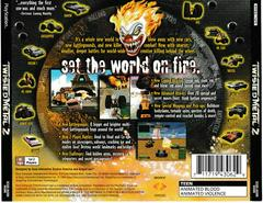 Back Of Case | Twisted Metal 2 Playstation