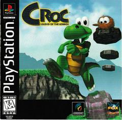 Manual - Front | Croc Playstation