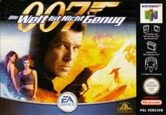 007  World is Not Enough PAL Nintendo 64 Prices