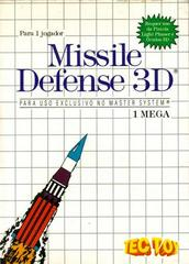 Missile Defense 3D PAL Sega Master System Prices