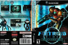 Artwork - Back, Front (UPC Ends 159) | Metroid Prime 2 Echoes Gamecube