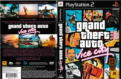 Artwork - Back, Front | Grand Theft Auto Vice City Playstation 2