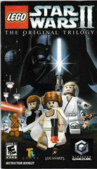 Manual - Front | LEGO Star Wars II Original Trilogy Gamecube