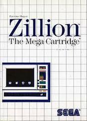 Zillion - Front | Zillion Sega Master System