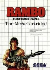 Rambo First Blood Part II - Front | Rambo: First Blood Part II Sega Master System