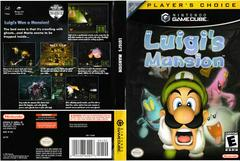 Artwork - Back, Front (Players Choice) | Luigi's Mansion Gamecube