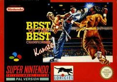 Best of the Best Championship Karate PAL Super Nintendo Prices
