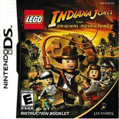 Manual - Front | LEGO Indiana Jones The Original Adventures Nintendo DS