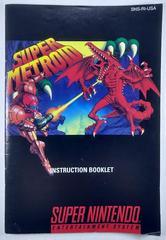 Manual | Super Metroid Super Nintendo
