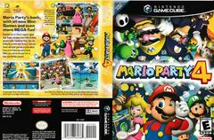 Artwork - Back, Front | Mario Party 4 Gamecube
