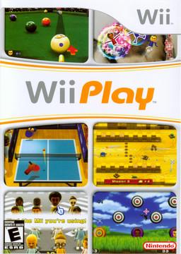Wii Play Cover Art