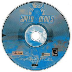 Game Disc   Speed Devils Sega Dreamcast