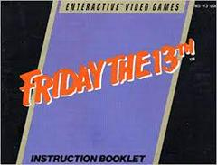 Friday The 13th - Instructions | Friday the 13th NES