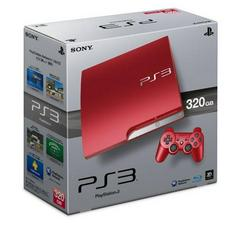Playstation 3 Scarlet Red 320GB System PAL Playstation 3 Prices