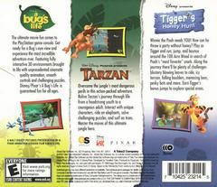 Back Of Box/Slip Cover | Disney Action Games Collector's Edition Playstation