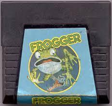 Frogger - Cartridge   Frogger Atari 5200