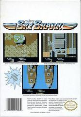 Back Cover | Sky Shark NES
